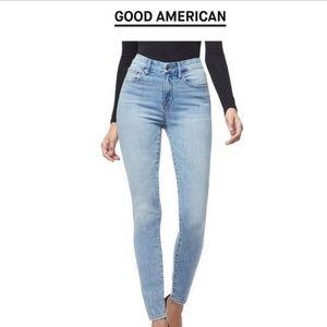 Good American good legs high rise jeans 31